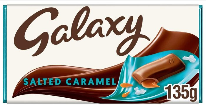 Galaxy Salted Caramel Chocolate Bar, 135g