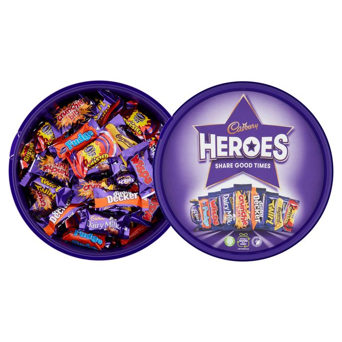 CHEAP! £4 Tubs of Heroes, Quality Street, Roses & Celebrations
