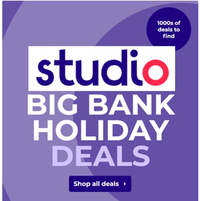 Studio - Bank Holiday Deals Event