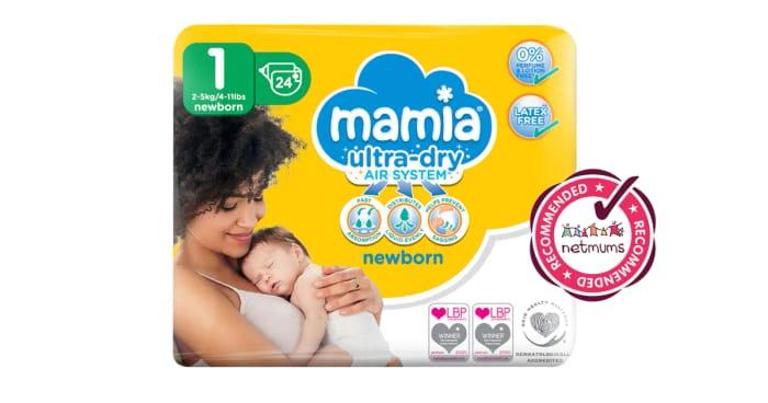Free Mamia Newborn Nappies