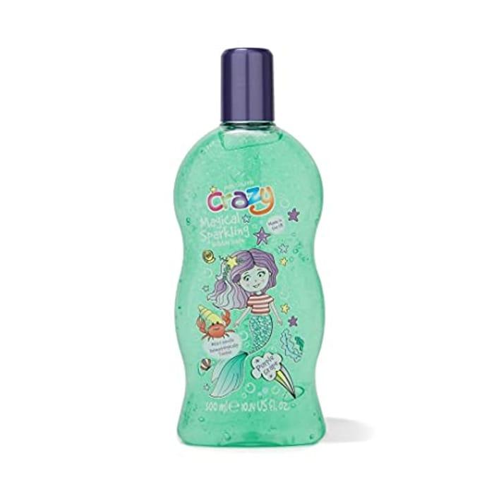 Kids Stuff Crazy Soap Colour Changing Magic Sparkling Bubble Bath, 300ml