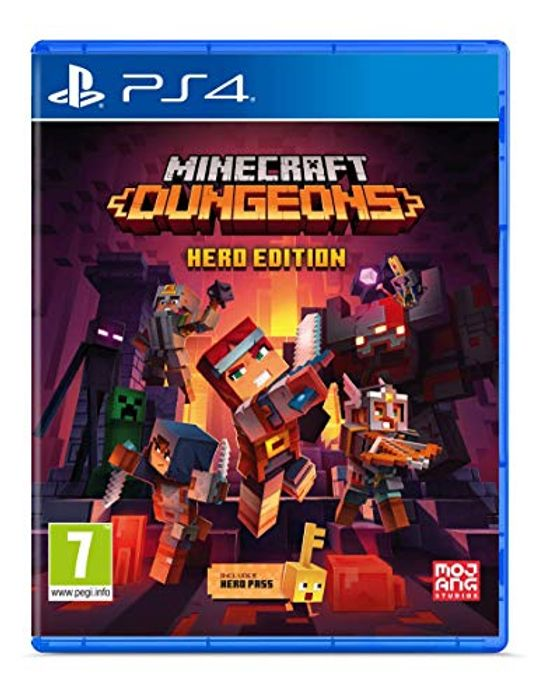 Cheap Minecraft Dungeons - Hero Edition (PS4) at Amazon