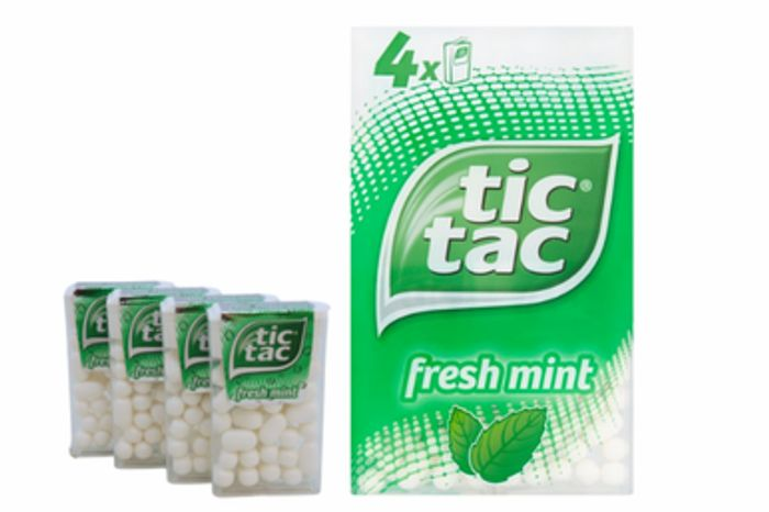 Tic Tac Mint 4 X 16g
