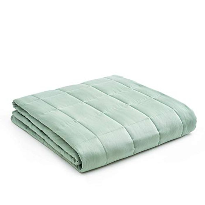 DEAL STACK - YNM Weighted Blanket for Sleep, Autism, Insomnia + £10 Coupon