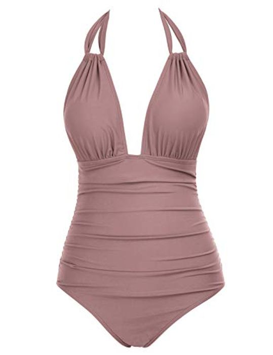 DEAL STACK - Zexxxy Women One Piece Tummy Control Swimsuits + 20% Coupon