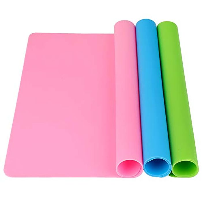 Funpa 3 Pack Extra Large Heat Resistant Silicone Sheets - 15.7 X 11.8ins