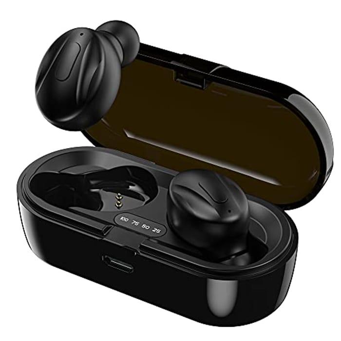 DPS Deep Noise Reduction 5.0 EDR Wireless Stereo Earphones - Only £6.99!