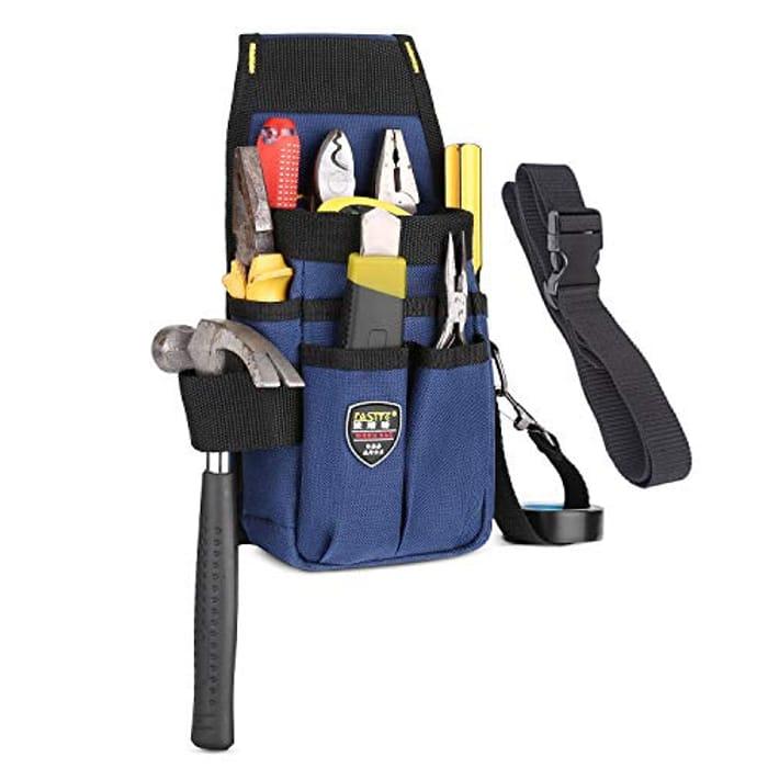 BAIGIO Small Tool Bag with Adjustable Nylon Belt