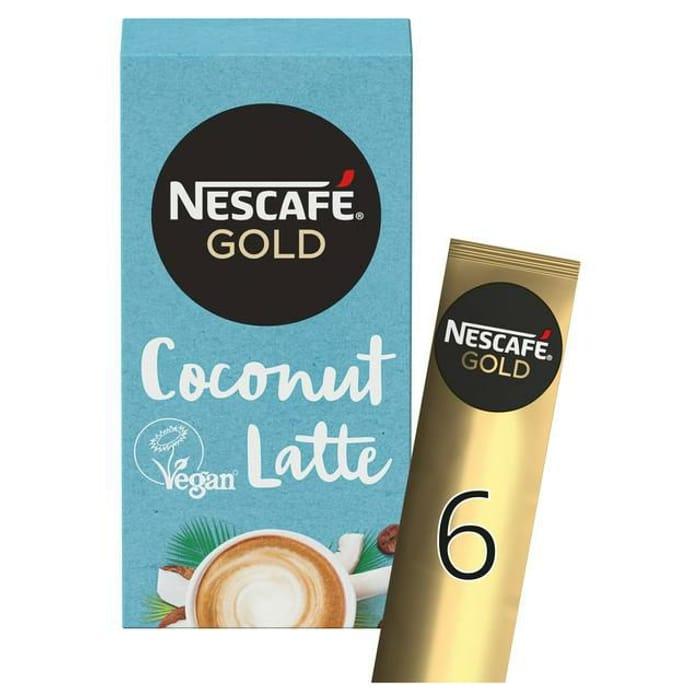 Nescaf Gold Non-Dairy Coconut Latte Instant Coffee