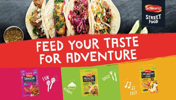 Now Available on Send Me a Sample Schwartz Street Food