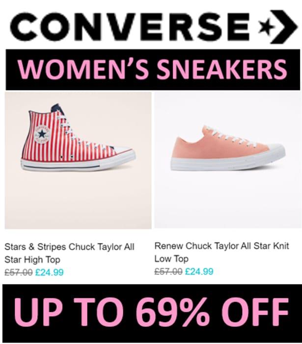 CONVERSE SALE - WOMENS SNEAKERS SALE