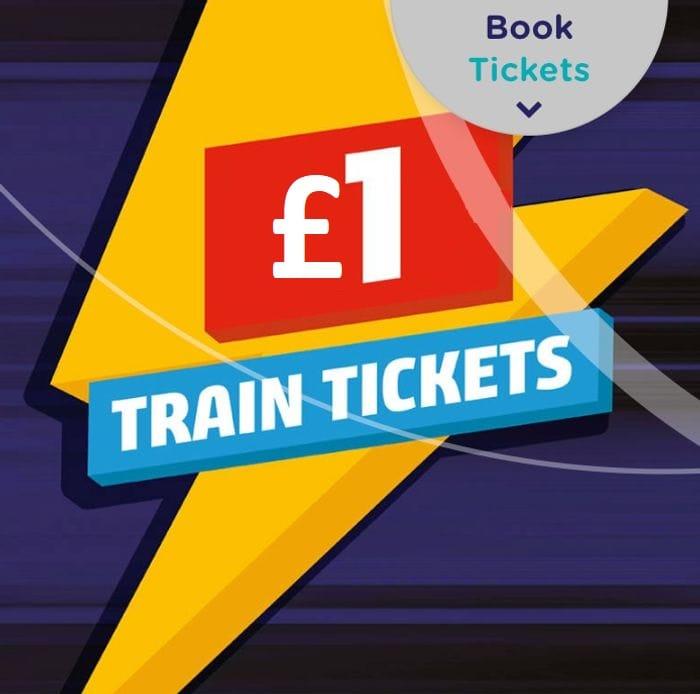 Northern Rail £1 Train Tickets Flash Sale (1 Million Available)