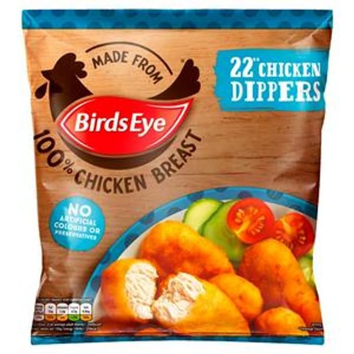 Birds Eye Chicken Dippers X22 403g