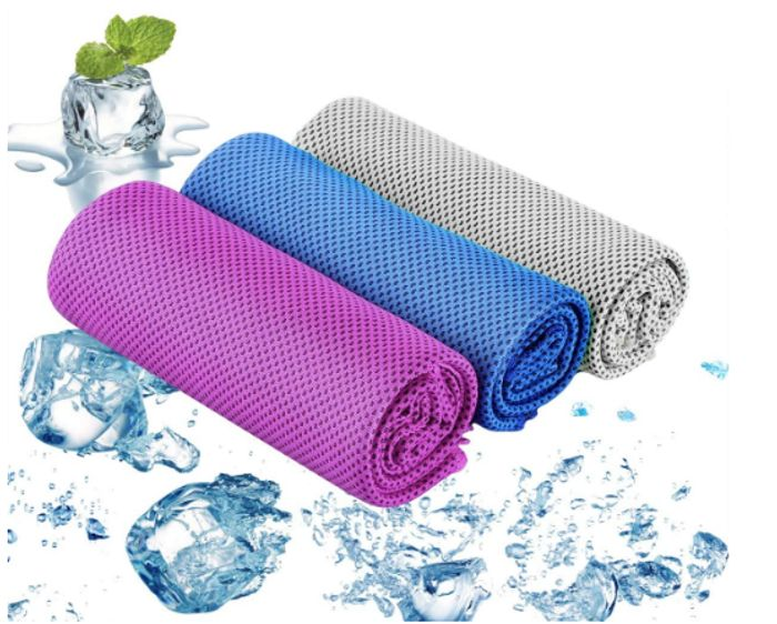 Cooling Towel 3 Pack Just £4 at Amazon