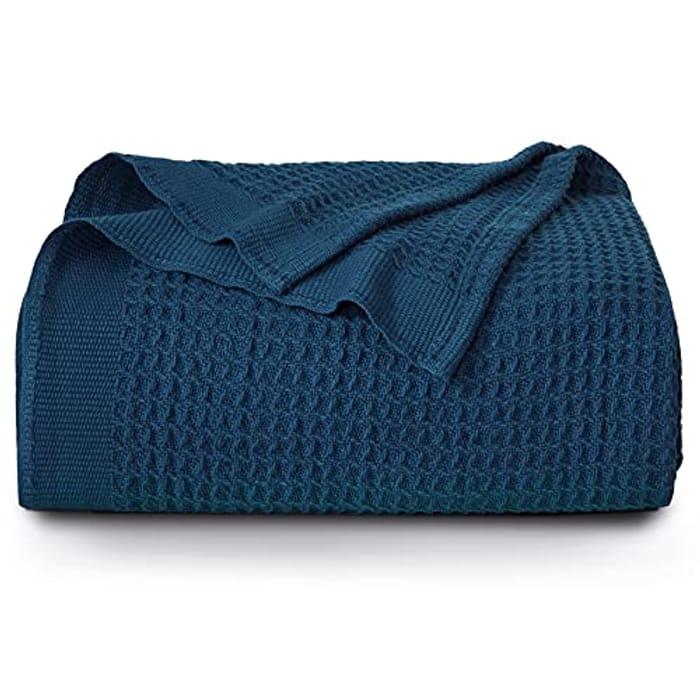 Deal Stack! Cotton Sofa Throw Blanket