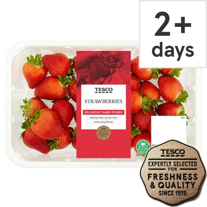 Tesco Strawberries 600G Club Card Deal