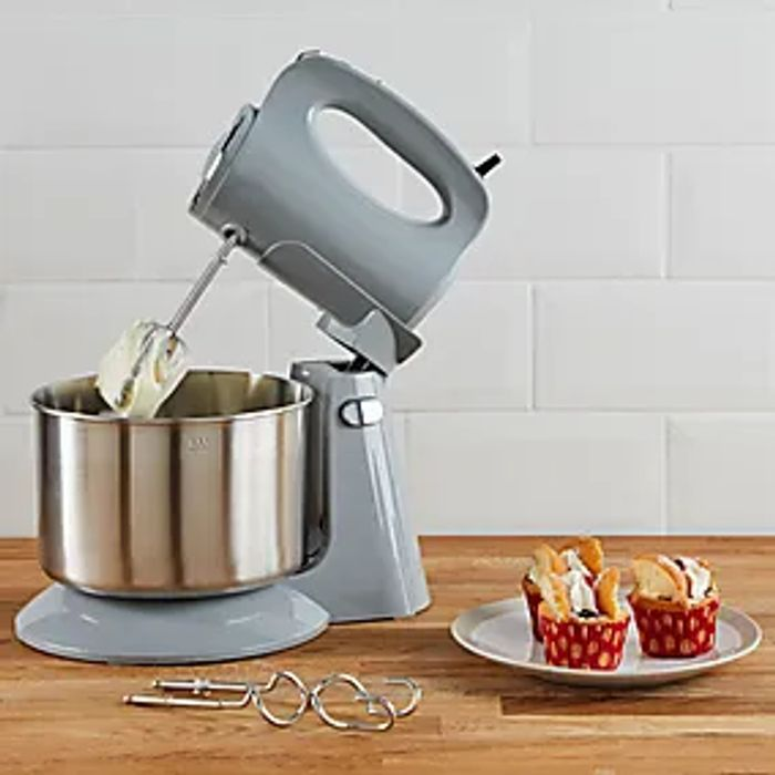 300W Grey Stand Mixer Click & Collect after 3 Hours  2 Year Guarantee.
