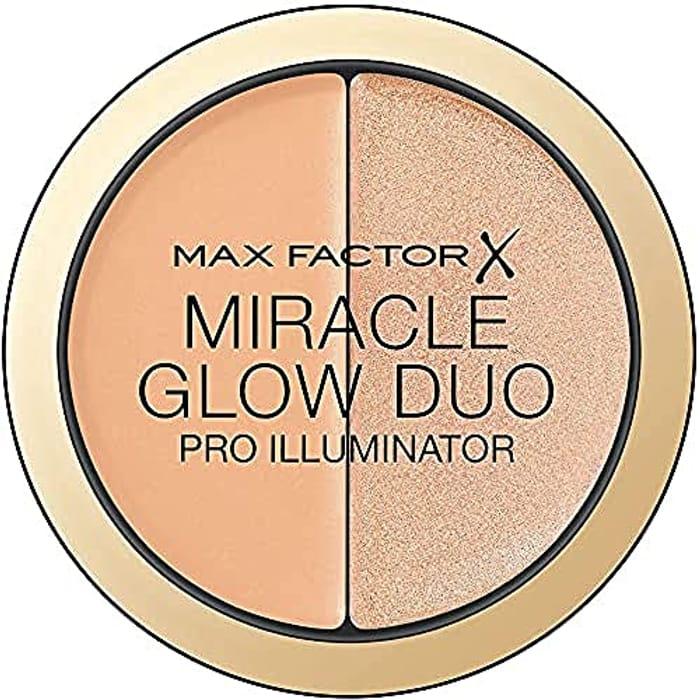 Max Factor Miracle Glow Duo Pro Illuminator, Creamy Highlighter