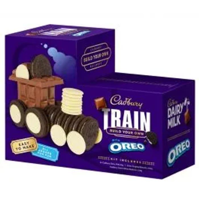 Cadbury Dairy Milk & Oreo Train Kit