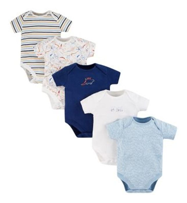 Cheap Boots: Mini Club 5 Pack Bodysuits at Boots