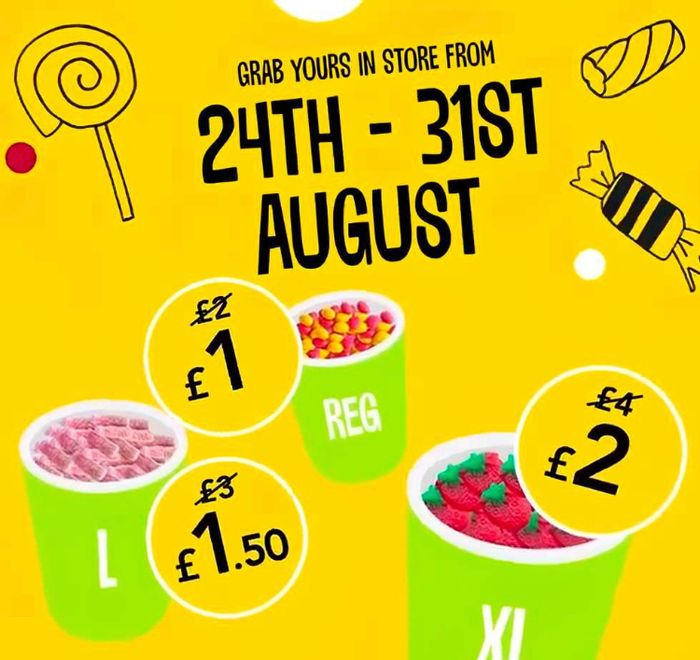 Wilko Half Price Pick & Mix Back until the 31st of August