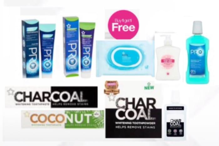 BOGOF OnSelected ProCare Toothpaste,Toothbrush,Supersized Antibac Handwash,Wipes