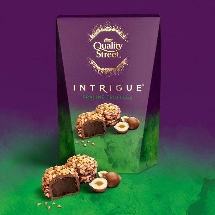 6 X Nestle Quality Street Intrigue Praline Truffles 200g Chocolate Gift Boxes