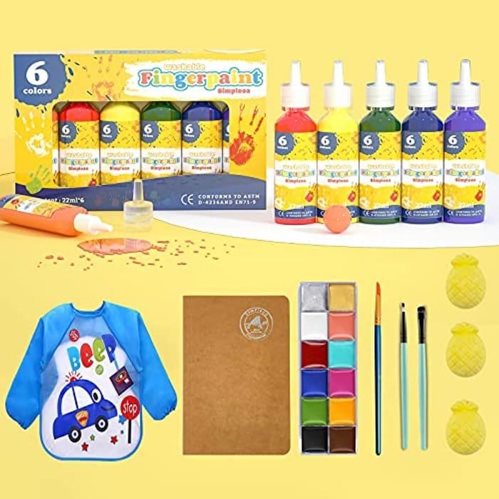 Kids Washable Paint Set
