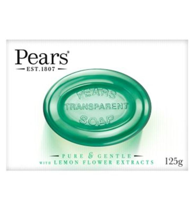 Pears Soap Pure & Gentle with Lemon Flower Exctracts 125g
