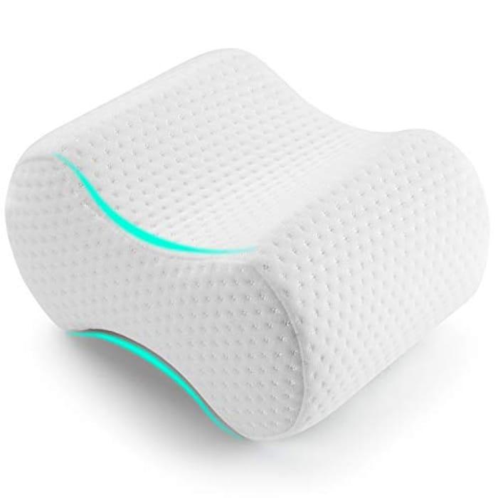 AMERIERGO Memory Foam Knee Pillow - 25x19x13.5cm