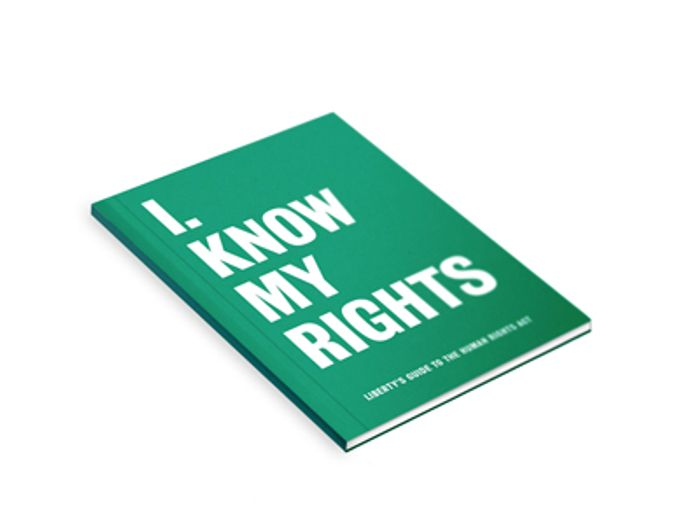 Free I Know My Rights (Book)