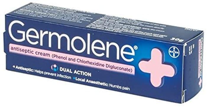GERMOLENE Antiseptic Cream with Local Anaesthetic 30g