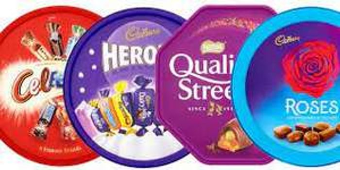 Chocolate Tubs Quality Street, Celebrations, Roses & Hereos - £3.50 (Clubcard)