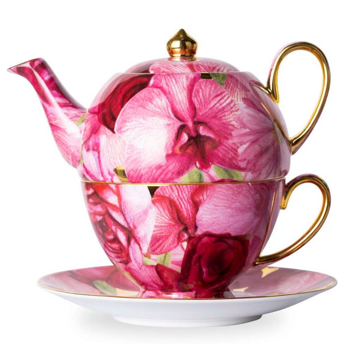 Luscious Orchid Rose Tea for One - Now £35!