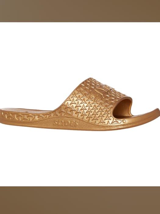 SLYDES Gold Brand Embossed Sliders