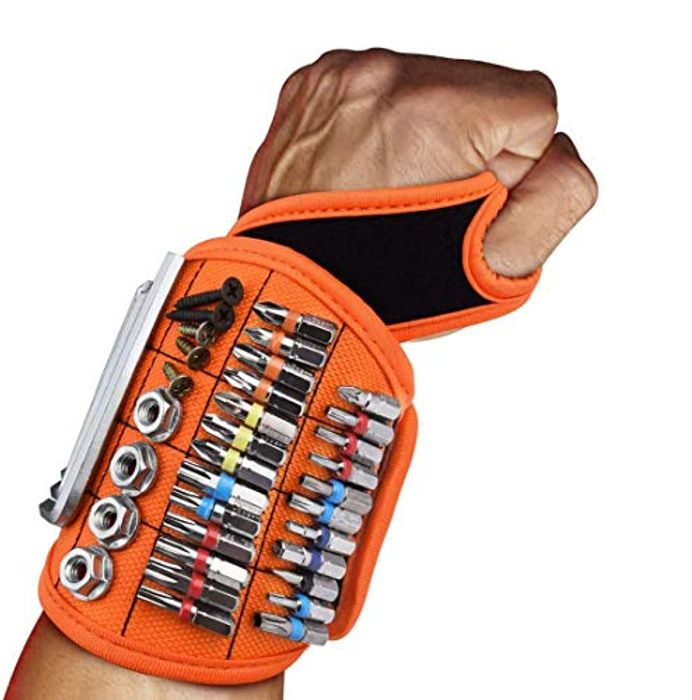 Magnetic Wristband with Thumb Hold