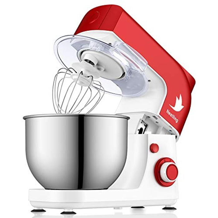 Nestling 5L 800W Stand Mixer + Mixing Bowl with 6 Speeds