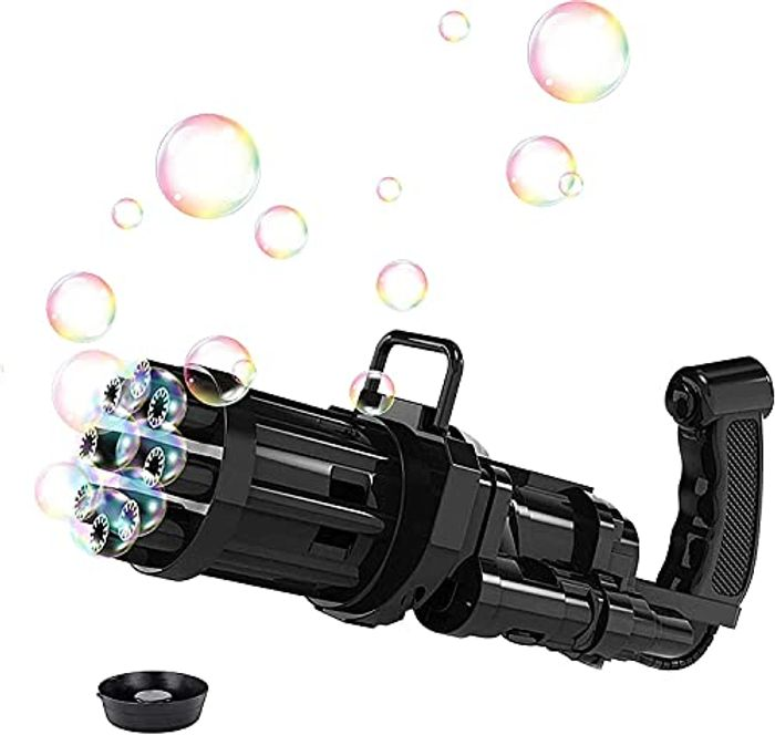 Bubble Gun Machine with 8 Holes