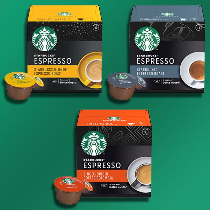 CHEAP! 72 X Starbucks Assorted Black Variety Espresso Coffee Dolce Gusto Pods