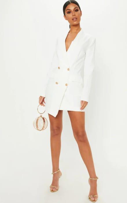 White Gold Blazer Dress - £5 Off