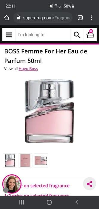 BOSS Femme for Her Eau De Parfum 50ml