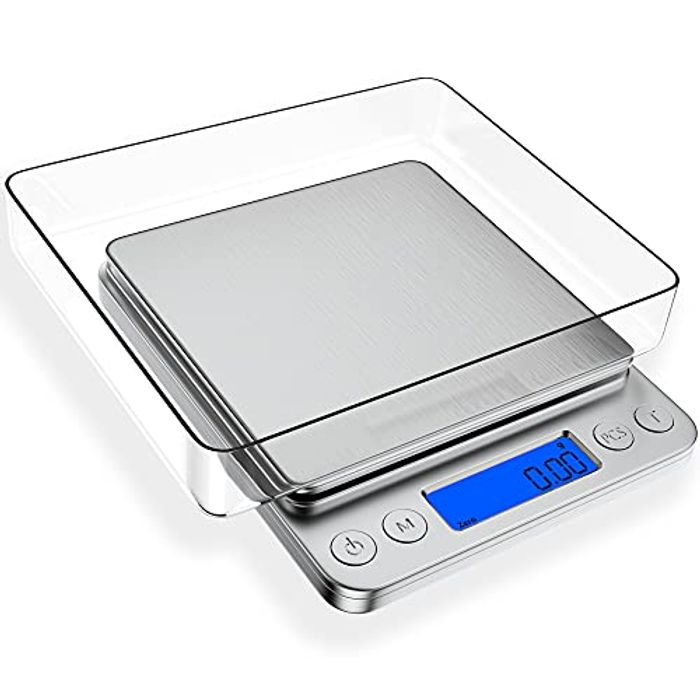 Precise Digital Weighing Scales with 2 Trays