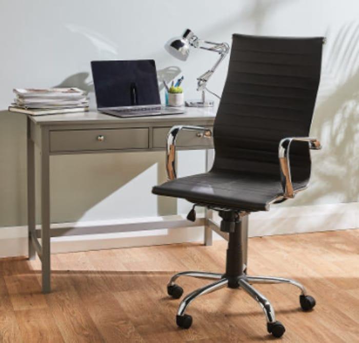Kirkton House High Back Desk Chair - Now £39.99!