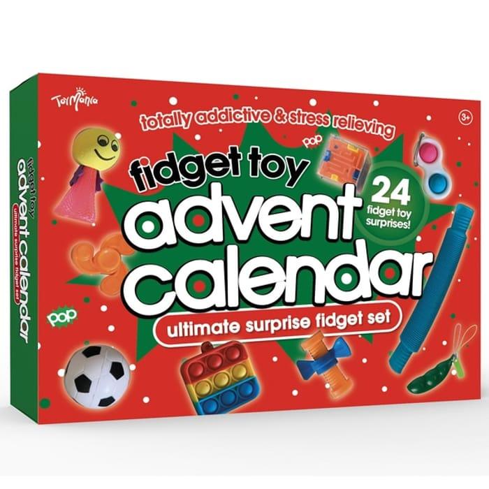 24 Day Fidget Toy Advent Calendar - £24.99 Delivered