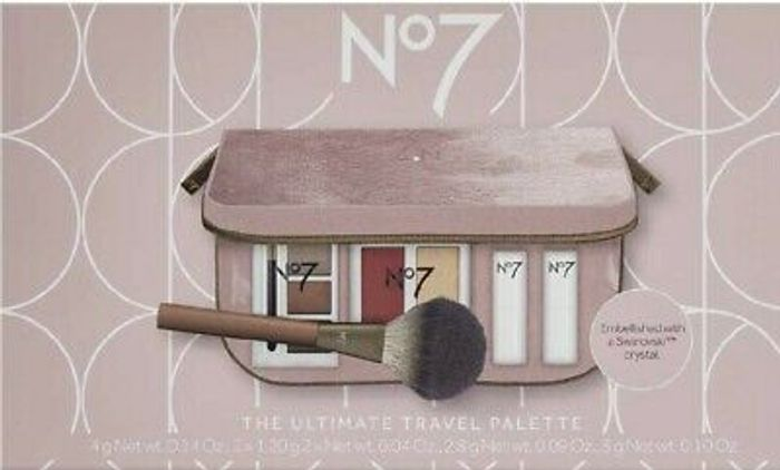 Save £10 with £20 Spend on Selected No7/Ultimate Travel Palette 3 for £20