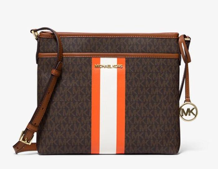 Michael Kors Bedford Logo Stripe Crossbody Handbag - £82 Delivered