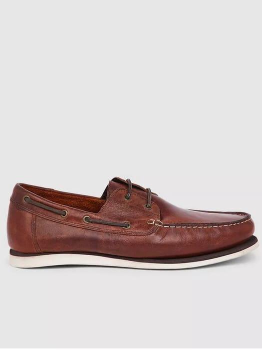 Debenhams Red Tape Helford Leather Boat Shoe