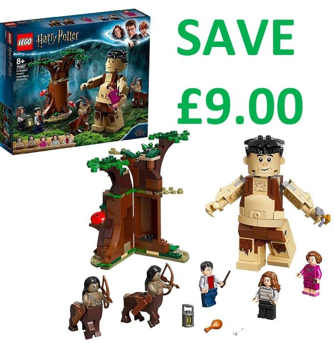 SAVE £9 - LEGO HARRY POTTER Forbidden Forest: Umbridges Encounter (75967)