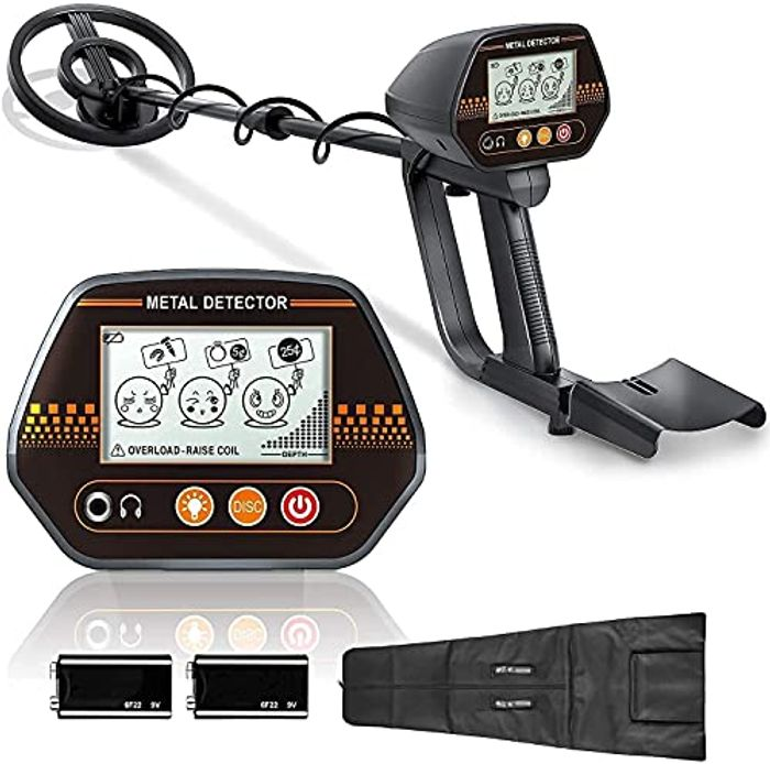 DEAL STACK - LSRL Metal Detector,2 Batteries,3 Audio Tone + 10% Coupon