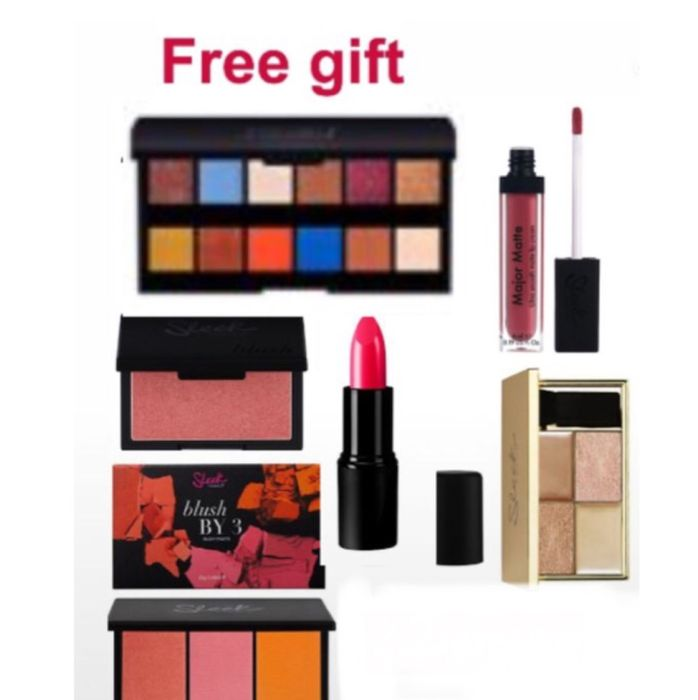 Free Gift when You Spend £14 on Sleek Cosmetics -